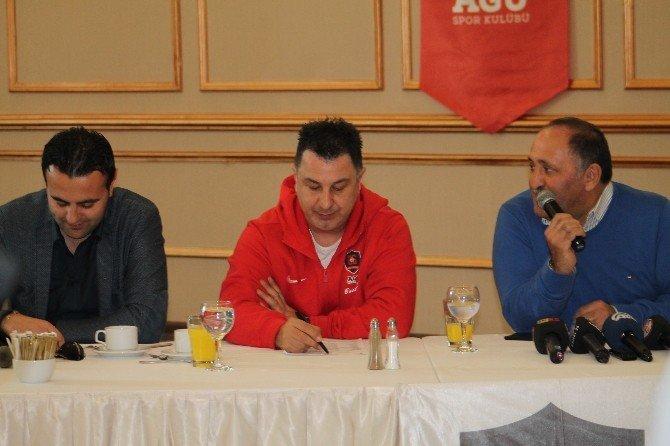 Agüspor Başantrenörü Ayhan Avcı: