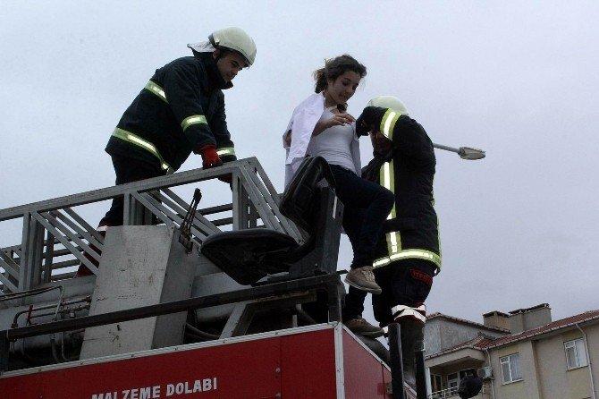 İkaz Alarm Ve Personel Tahliye Tatbikatı Gerçekleşti