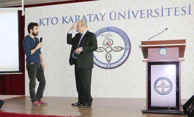 KTO Karatay Üniversitesi'nde Etkili İletişim Semineri