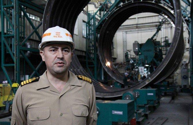 """Deniz Kuvvetleri'nin Yeni Denizaltısı """"Reis"""" 2020'de Hazır"""