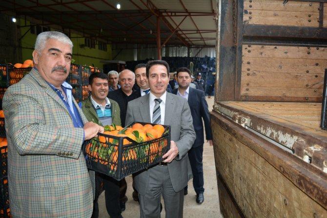 Kozan'dan Diyarbakır'daki asker ve polise portakal gönderildi