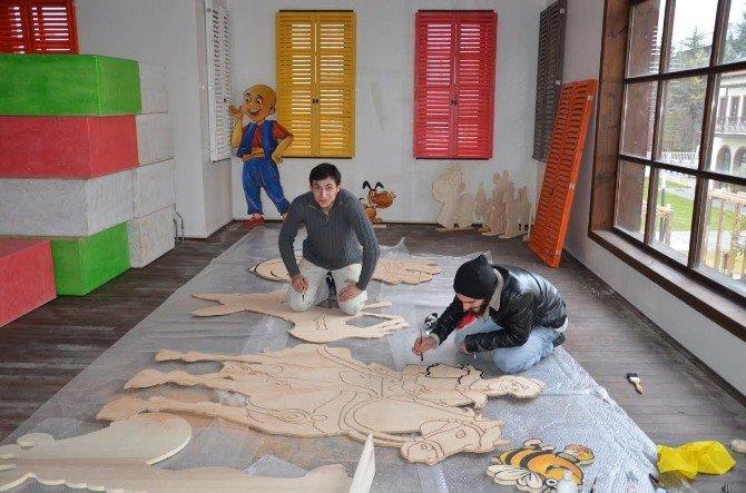 Çocuk Oyun Evi Ve Oyuncak Müzesi Kuruluyor
