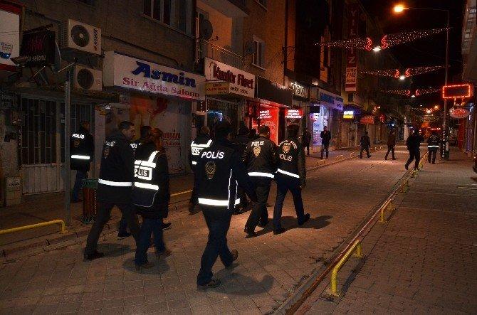 Malatya'da 150 Polis İle Asayiş Uygulaması Yapıldı