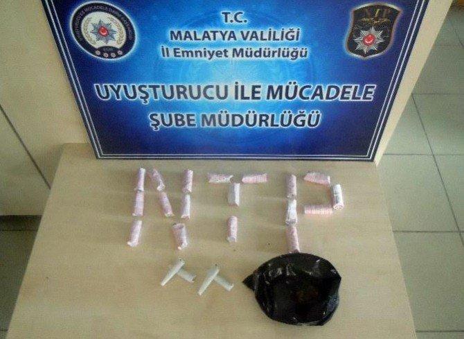 Malatya'da Uyuşturucu Operasyonu: 5 Tutuklama