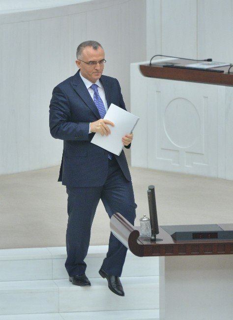 Maliye Bakanı Naci Ağbal: