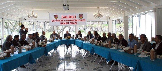 Salihli'de Yolcu Ve Yük Taşımacılığı Sorunları Masaya Yatırıldı