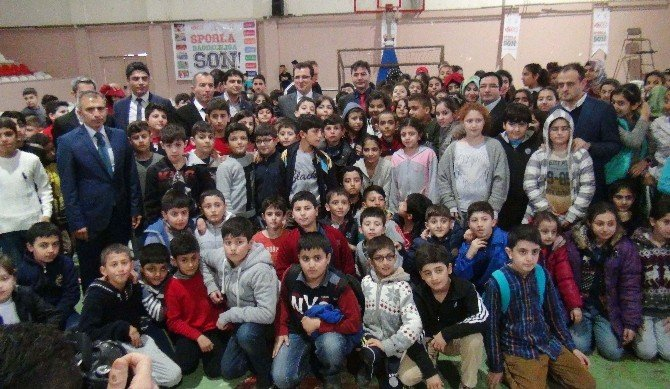 Kızıltepe'de 'Sporla Bağımlılığa' Son Projesi