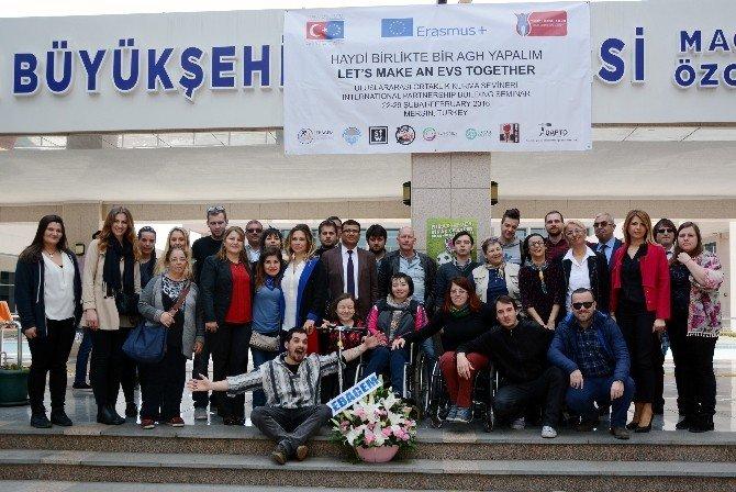 Mersin'de Engelli Bireyler İçin Çalışmalar Sürüyor