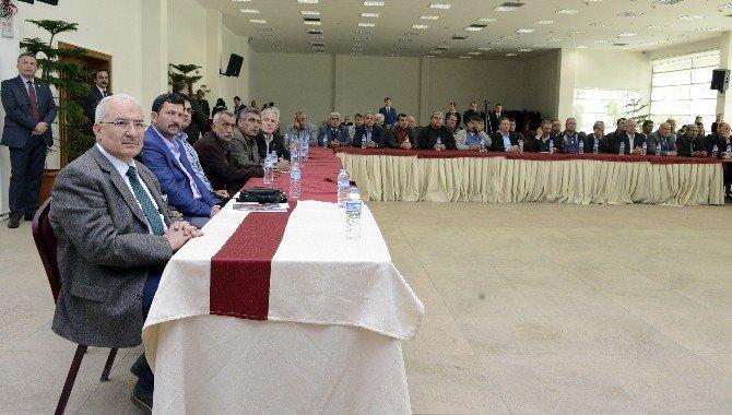 Kırsal Hatlar Bilgilendirme Toplantısı Yapıldı