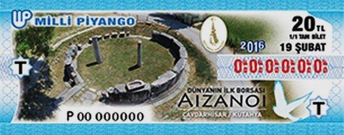 Milli Piyango'dan 'Dünyanın İlk Borsası Aizanoi' Çekilişi