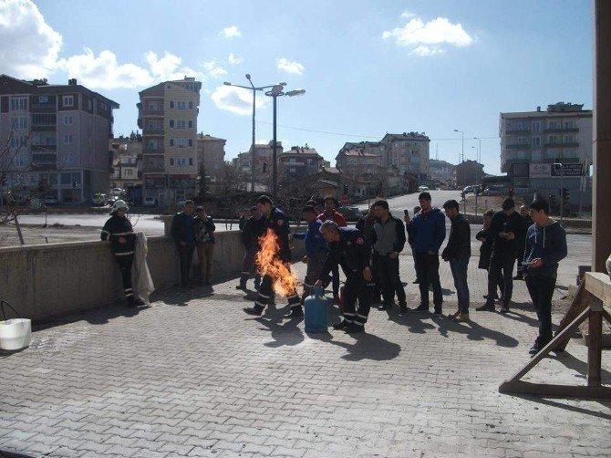 Nevşehir Belediyesi'nden Yangın Güvenlik Eğitimi