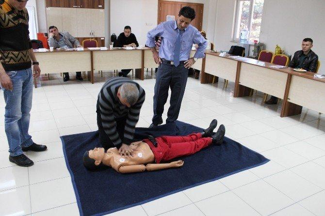 Niğde Belediyesi Personeline İlk Yardım Eğitimi Verildi