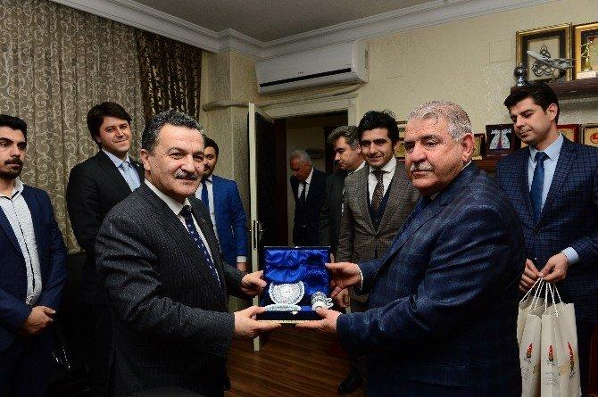 Başkan Mahçiçek, Azeri Milletvekilini Konuk Etti