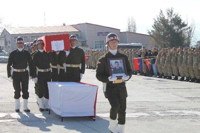 Şırnak'ta Şehit Asker İçin Tören Düzenlendi