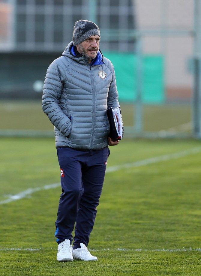 Osmanlıspor'da Trabzonspor maçının hazırlıkları tamamladı