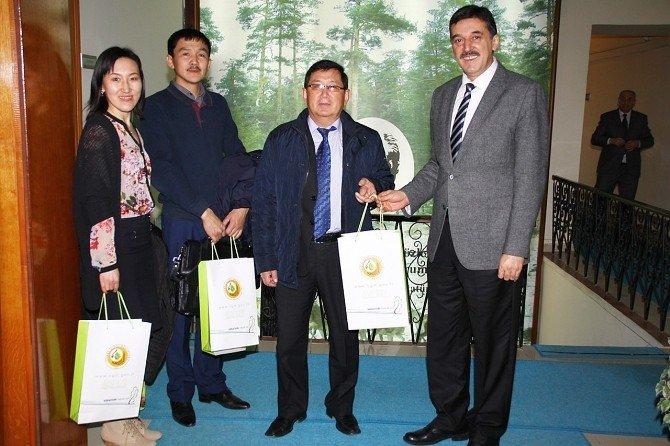 Kırgız Ormancılık Heyeti Eskişehir'de