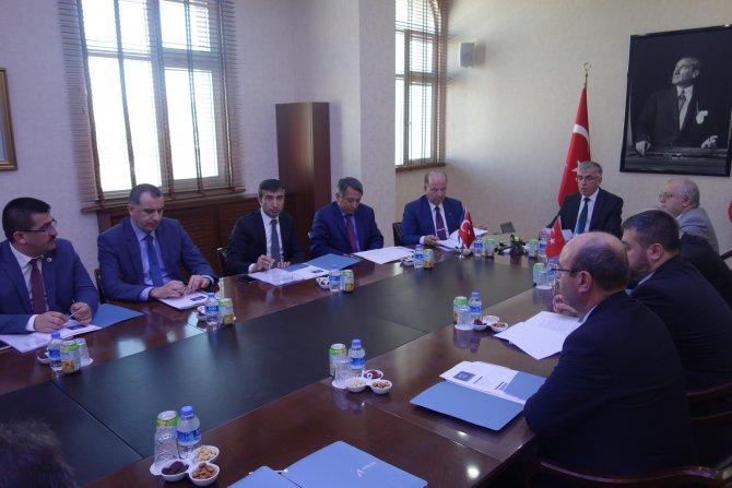 AHİKA Aylık değerlendirme toplantısı Kırıkkale'de yapıldı