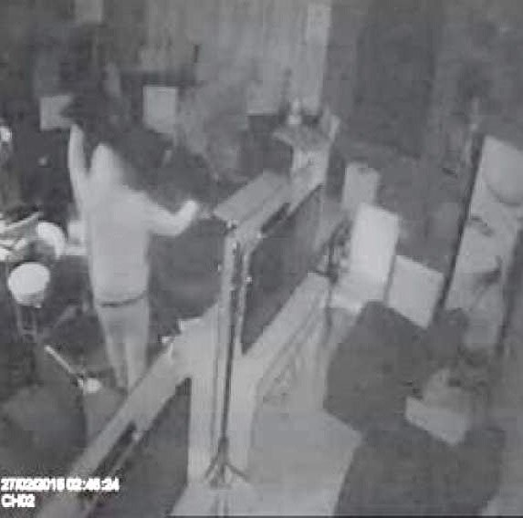 Çankaya'da 12 bin liralık soygun kamerada