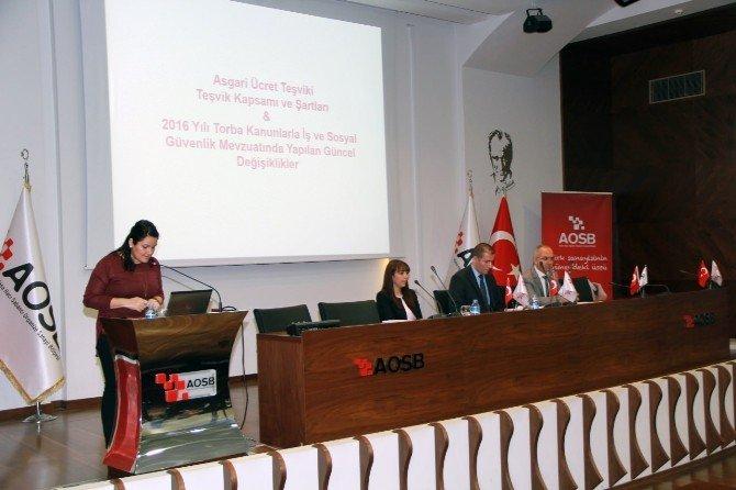 Aosb Akademi'de Eğitim Sürüyor