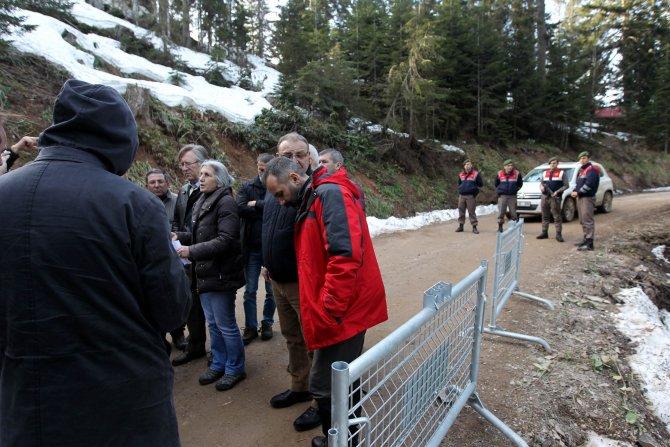 Cerattepe'de maden şirketi çalışanları belge gösteremedi