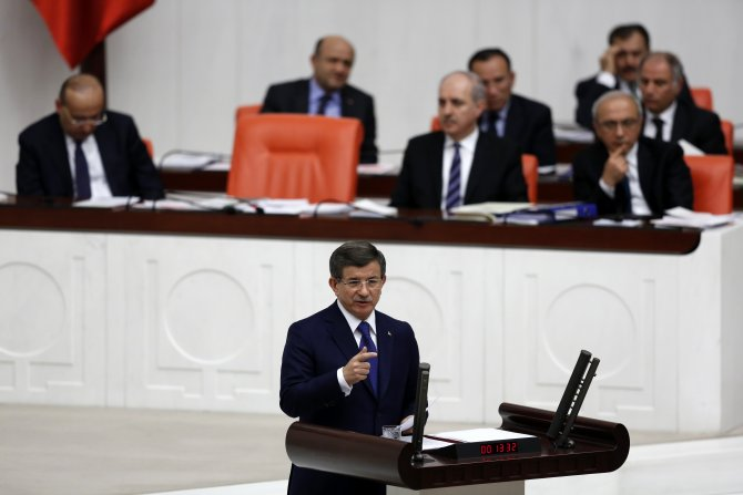 Davutoğlu: AK Parti'nin efsanevi kurucu lideri Erdoğan'dır, yeni lideri benim