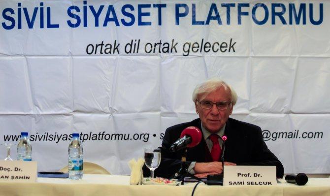 Sami Selçuk'tan iktidara: Önce AB'nin prensiplerini benimse