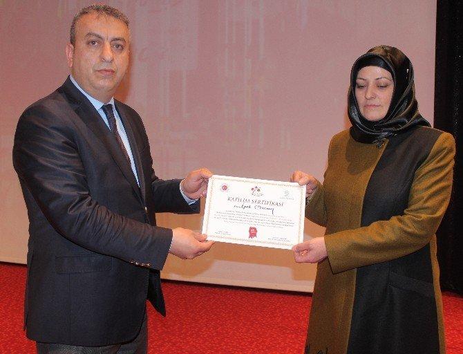 Elazığ'da Kadınlara Eğitim Verildi