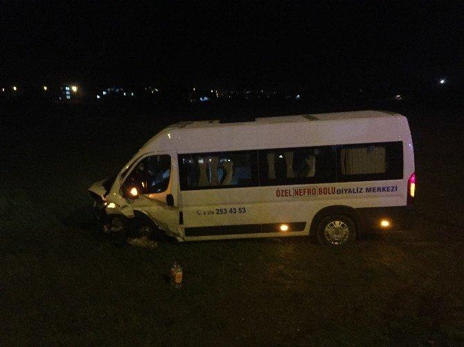 Bolu'da Trafik Kazası: 3 Yaralı