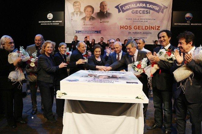 Türk Halk Müziği'nin 3 Dev İsmi İçin Büyükçekmece'de Özel Gece