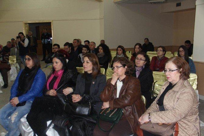 """Kırklareli'de """"Cumhuriyetimizde Kadının Yeri Dünü, Bugünü"""" Söyleşisi"""