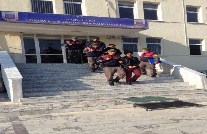 Didim'de 2'si Afgan 3 Göçmen Kaçakçısı Tutuklandı