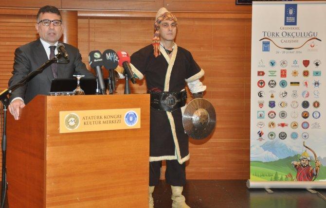 Geleneksel okçuluğun kalbi Bursa'da atıyor