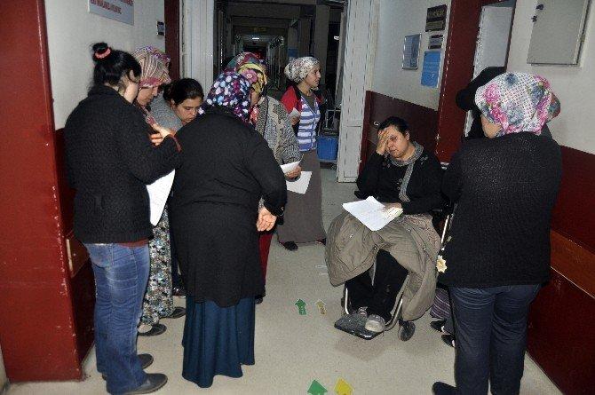 60 İşçi Amonyak Gazından Zehirlendi