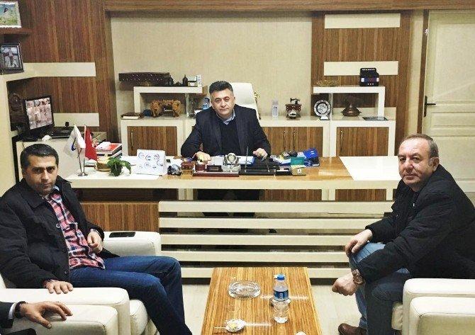 Başkan Şahiner, Kastamonulu İşadamlarını Sungurlu'ya Davet Etti