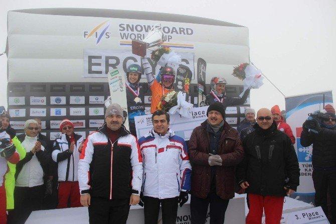Fıs Snowboard Dünya Kupası Erciyes Finali Yapıldı