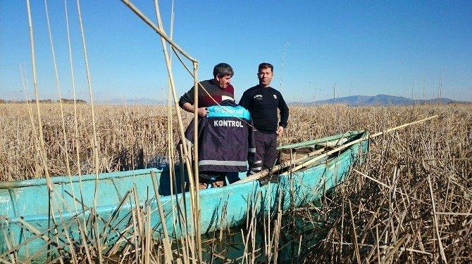Beyşehir Gölünde Elektroşok Cihazıyla Avlanan Balıkçıya 4 Bin Lira Ceza