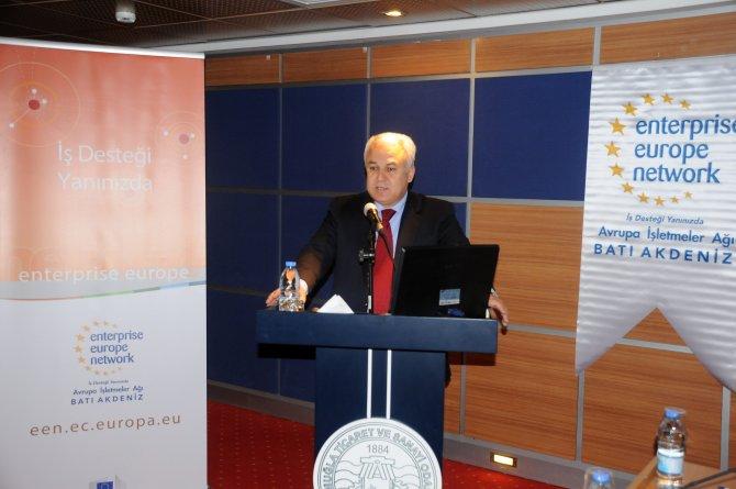 KOBİ'ler için 'Avrupa İşletmeler Ağı' projesi tanıtıldı