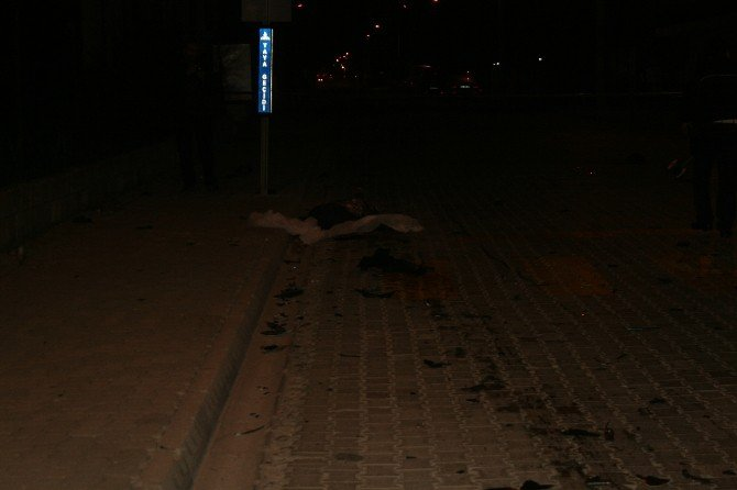 Marmaris'te Trafik Kazası ,1 Ölü
