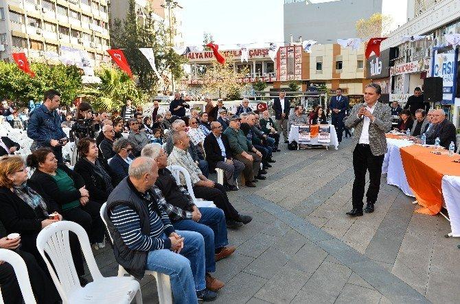 Muratpaşa Belediye Başkanı Uysal'dan Mahalle Toplantısı