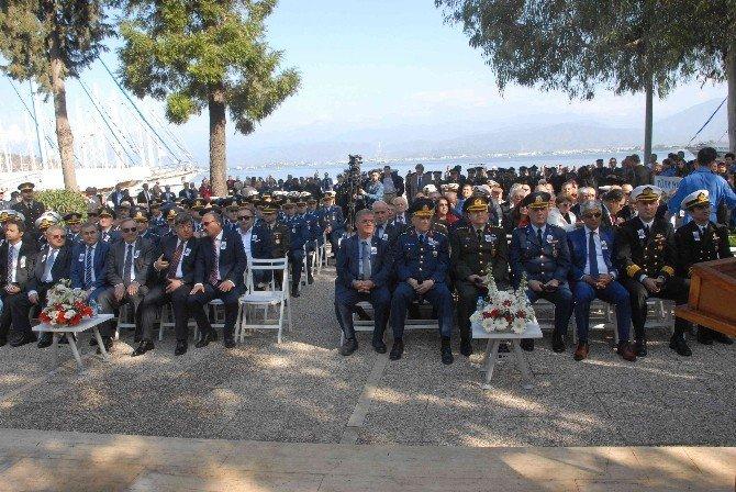 Şehit Fethi Bey Ölümünün 102. Yılında Fethiye'de Anıldı