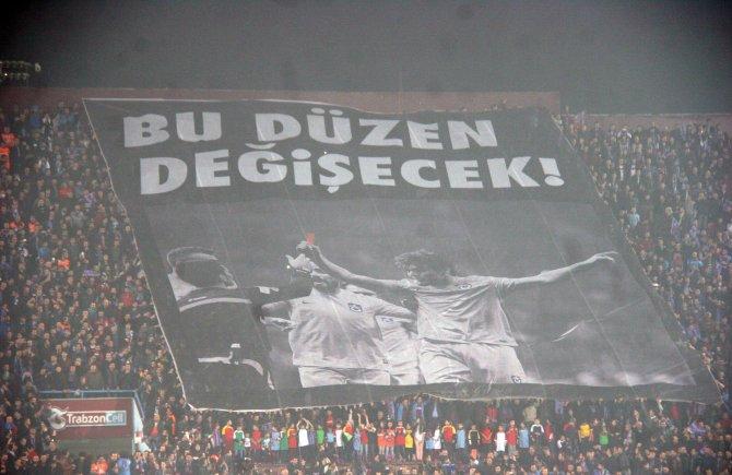 Trabzonspor: 0 – Osmanlıspor: 1 (İlk yarı)