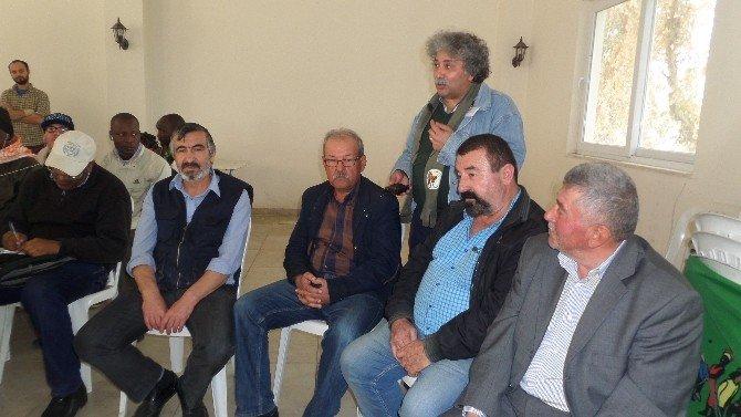 Dünya Çiftçi Sendikaları Üyeleri Alaşehir'de