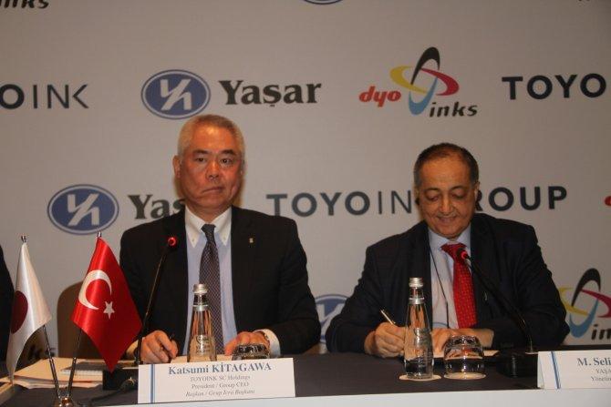Türkiye'nin ilk matbaa mürekkebi fabrikası artık Japonların