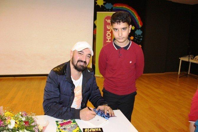 Çocuk Ve Gençlik Kitabı Yazarı Erkan İşeri Öğrencilerle Buluştu