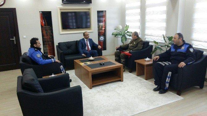 Turgut Kaçmaz'dan Emniyet Müdürlüğü'ne Ziyaret