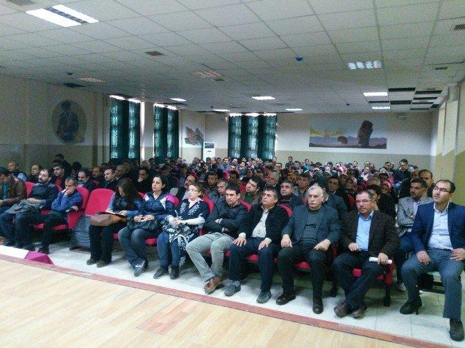 Kahta'da Danışman Öğretmenler Eğitimi Semineri Başladı