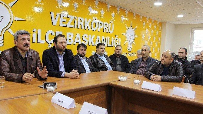 AK Parti, Vezirköprü'de TEK Yumruk