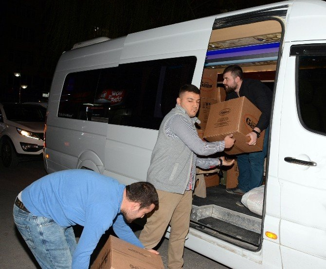 Aksaray AK Parti'den Sur'daki Güvenlik Güçlerine Moral Hediyesi
