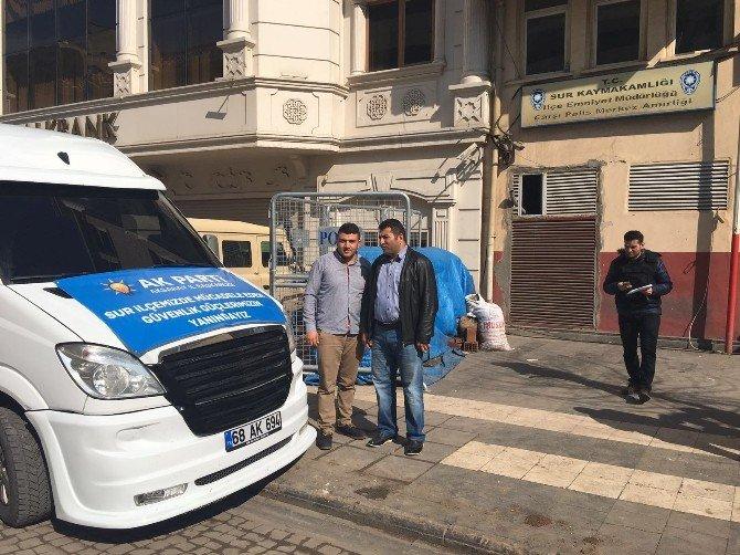 Moral Hediyeleri Sur'daki Güvenlik Güçlerine Ulaştı