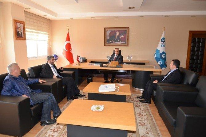 ASKON'dan Gül'e Hayırlı Olsun Ziyareti